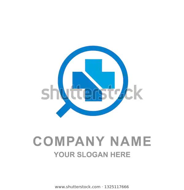 Medical Healthcare Blue Cross Pharmacy Logo Stock Vector Royalty Free 1325117666 Medical Blue Cross Logos