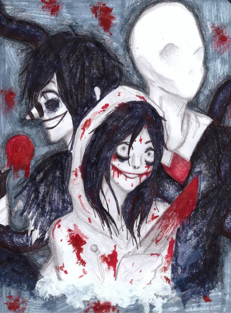 THREE KILLERS by NENEBUBBLEELOVER on DeviantArt