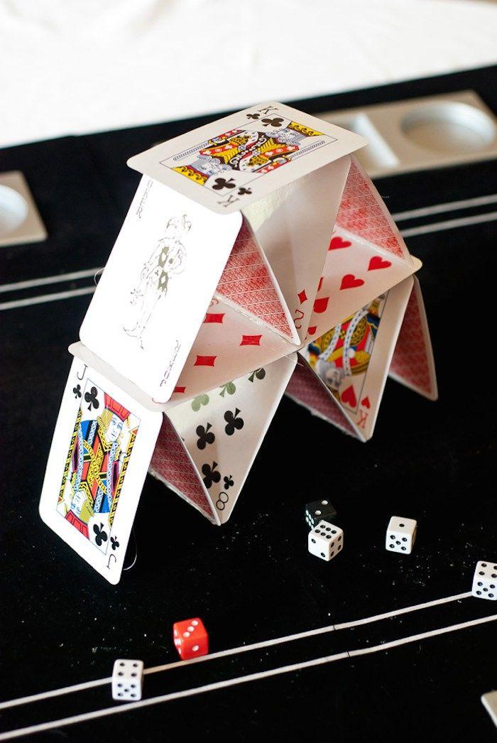 Casino Game Night Birthday Party Party Ideas Casino Royale