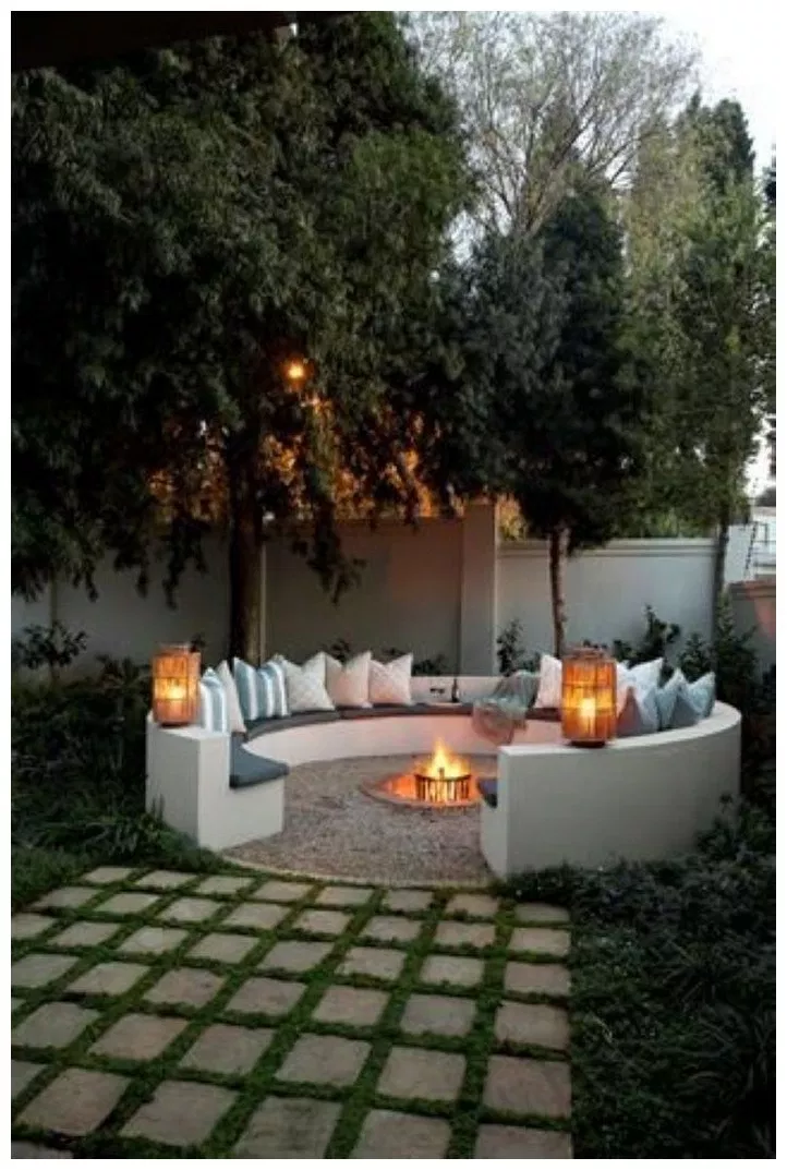 60 most stylish and coziest backyard patio ideas to copy 22  solnetsy com is part of Budget backyard -  60 most stylish and coziest backyard patio ideas to copy 22 Related