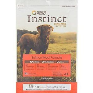 For Dani Instinct Grain Free Salmon Meal Dry Dog Food By Nature S