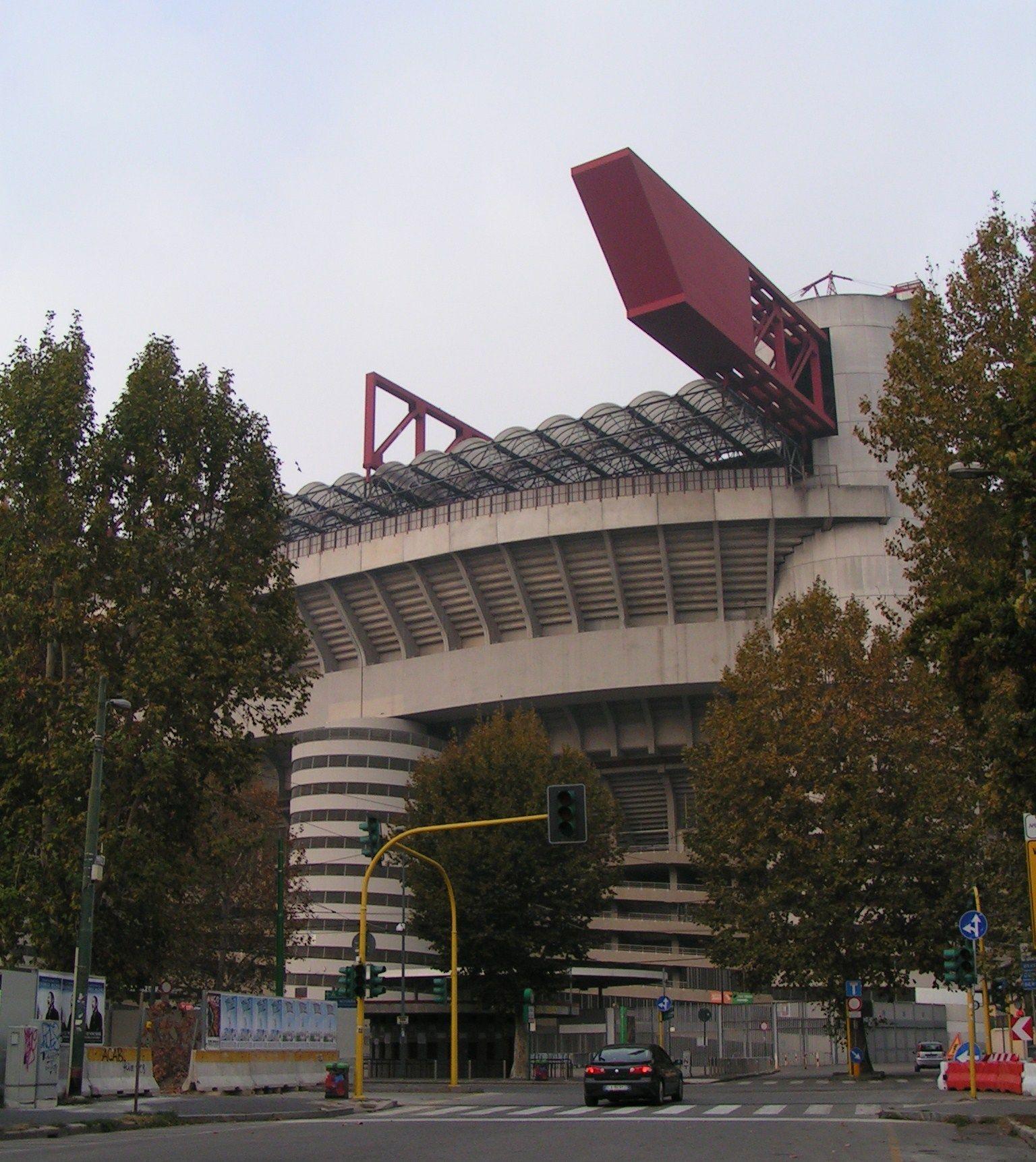 Stadio Giuseppe Meazza 2011  Inter - Juventus