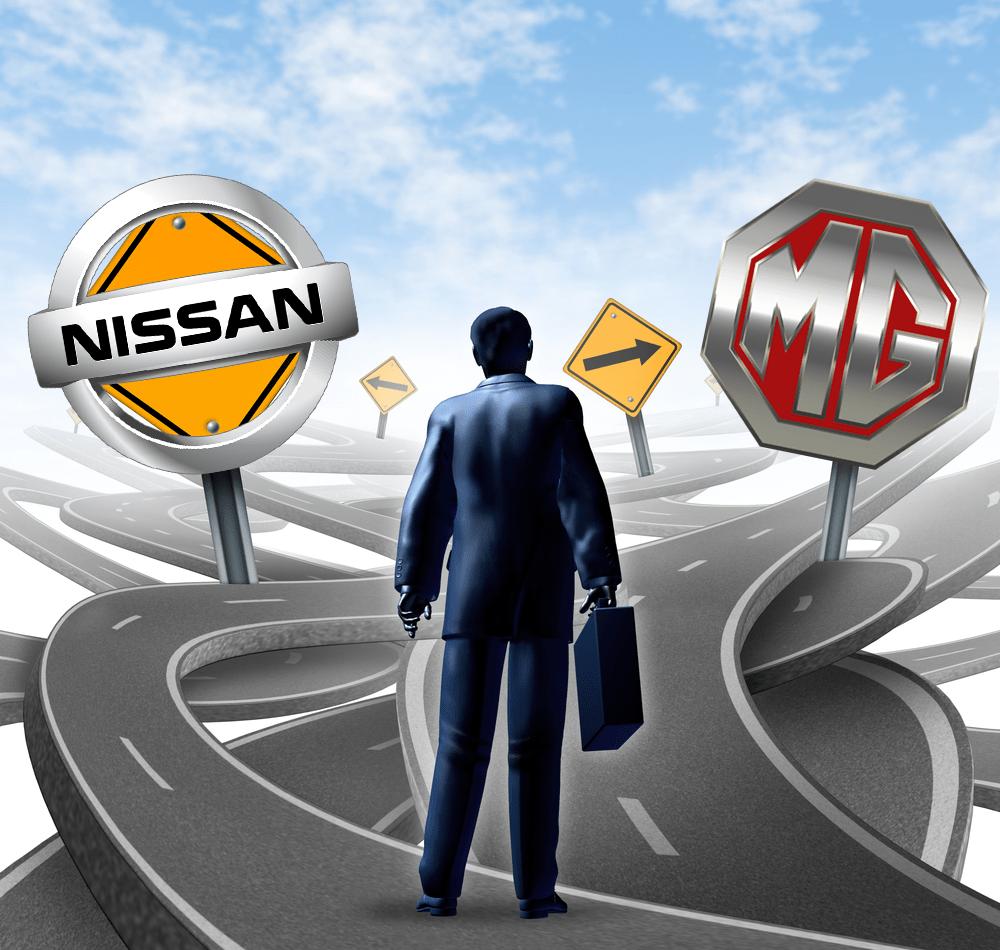 اشترى ام جى 5 ولا نيسان صنى مقارنة بين عربيتين الصينية Mg 5 واليابانية Nissan ولكم الرأى فى النهاية سوق بكر In 2020 Vehicle Logos Buick Logo Nissan