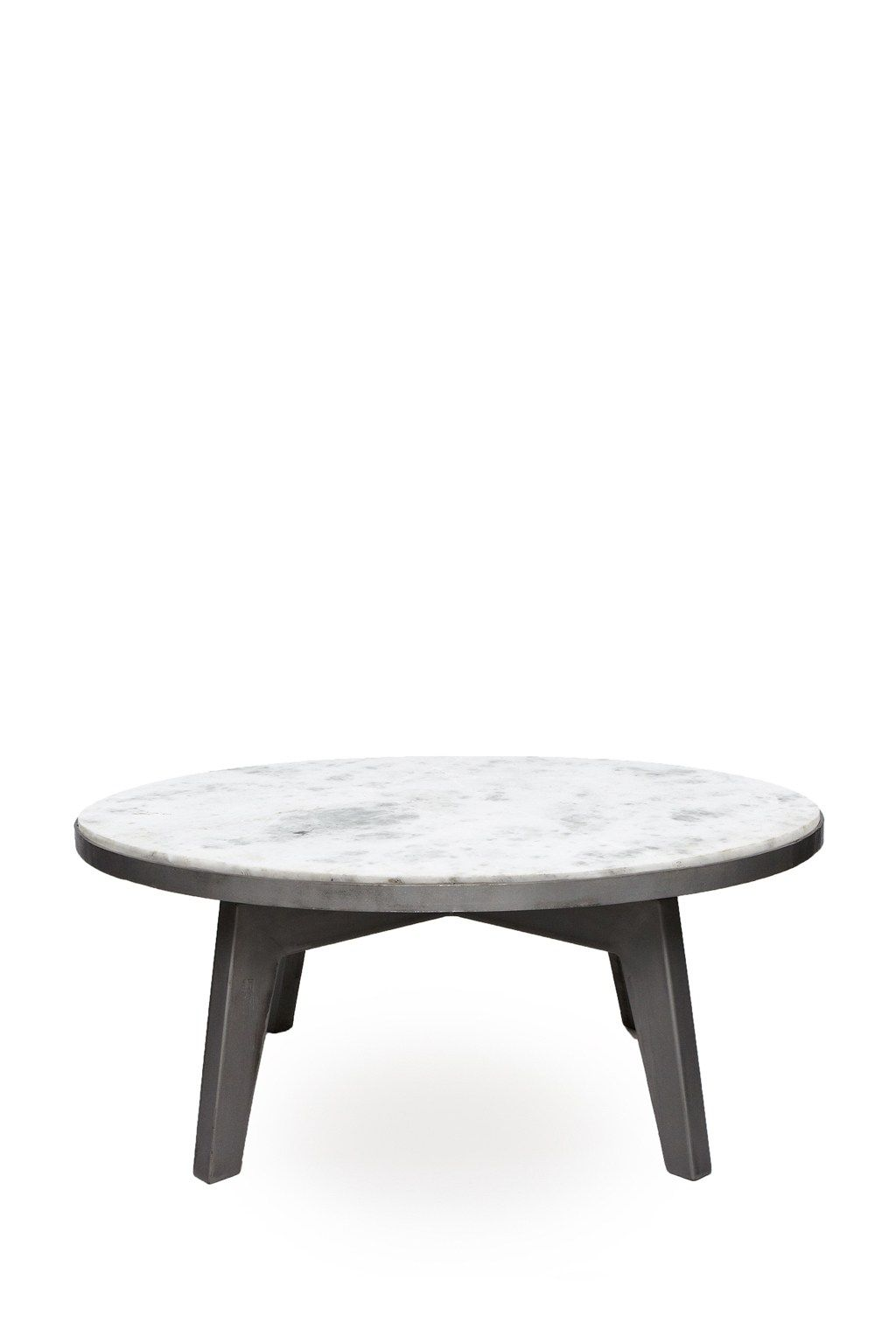 Axis round marble coffee table occasional furniture french axis round marble coffee table occasional furniture french connection geotapseo Image collections