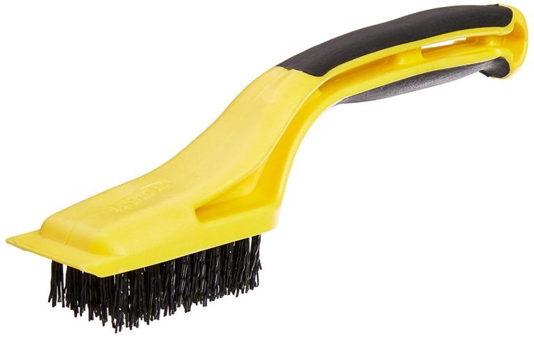The Best Way To Clean Paint Brush Plastic Scraper Cleaning Paint Brushes Clean Tile
