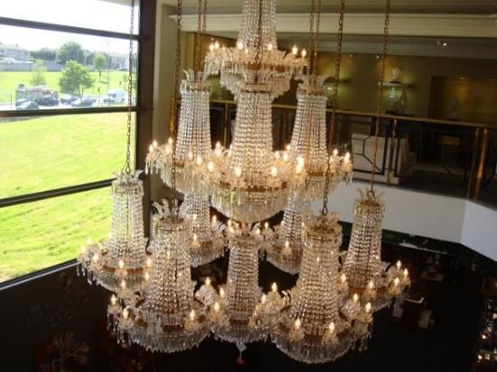 Waterford chandelier waterford crystals pinterest waterford waterford chandelier aloadofball Images