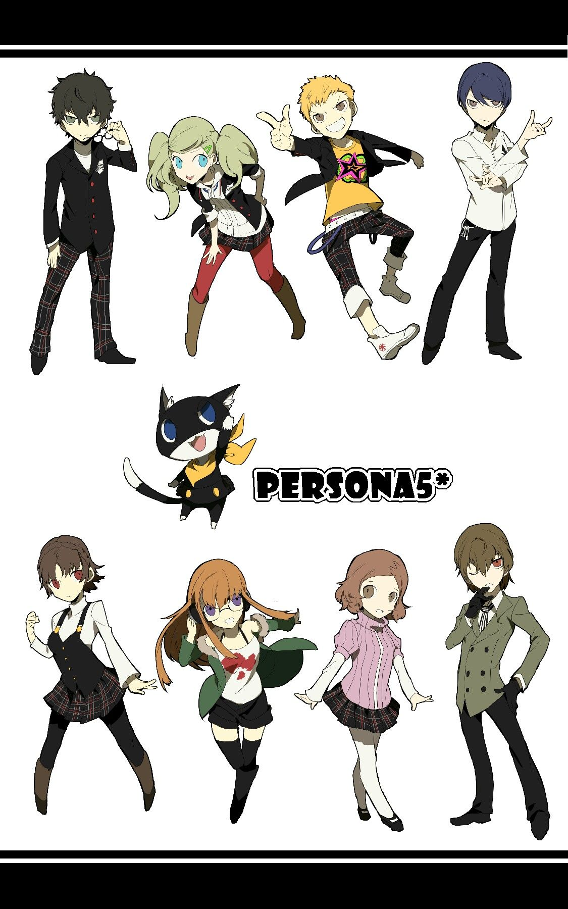 All characters Persona 5 persona 5 Pinterest Best