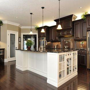 dark kitchen cabinet ideas. I Like The Dark Cabinets \u0026 Floor But No White Kitchen Cabinet Ideas