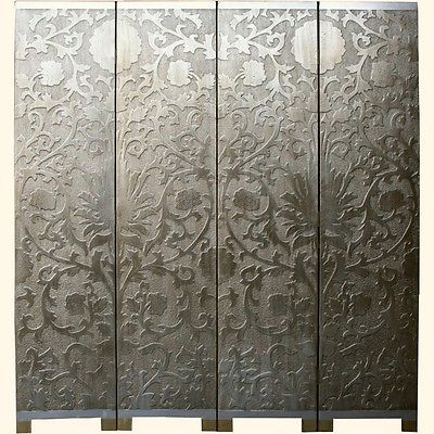 French Coromandel Silver Room Divider Screen Sn4 Gdsf2 S Free