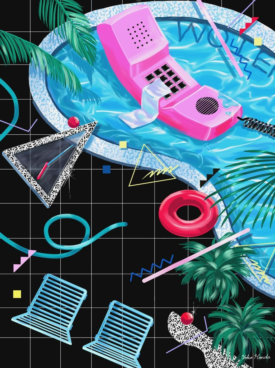 80s Designs 80's design trends: 20 amazing posters | honda, pop art and