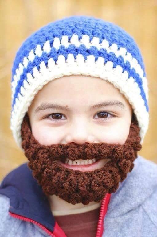 Baby beard. | My future kids. | Pinterest
