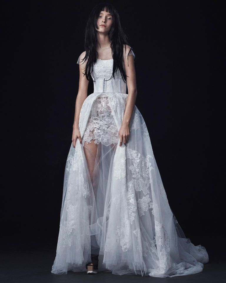See Vera Wangu0027s Dark And Sultry Wedding Dresses For Fall 2016