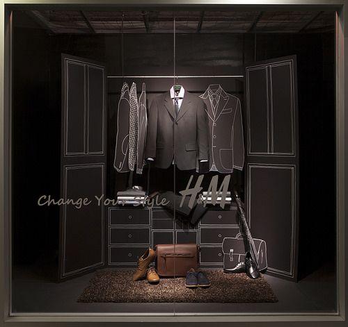 menswear window display 2014 visual merchandising arts
