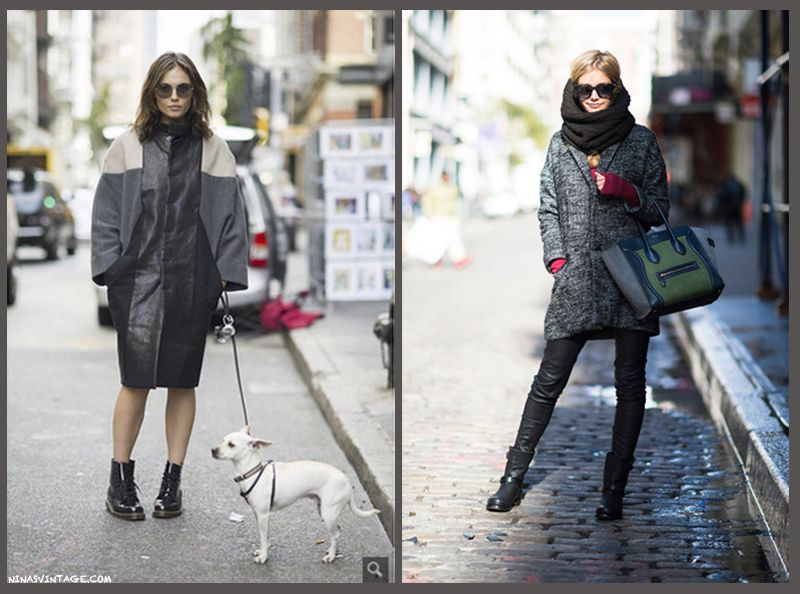 How to stay warm while being chic