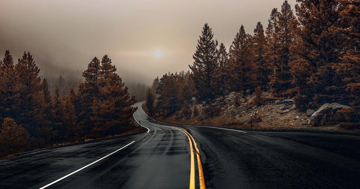 16 Nature Road Wallpaper Hd Di 2020