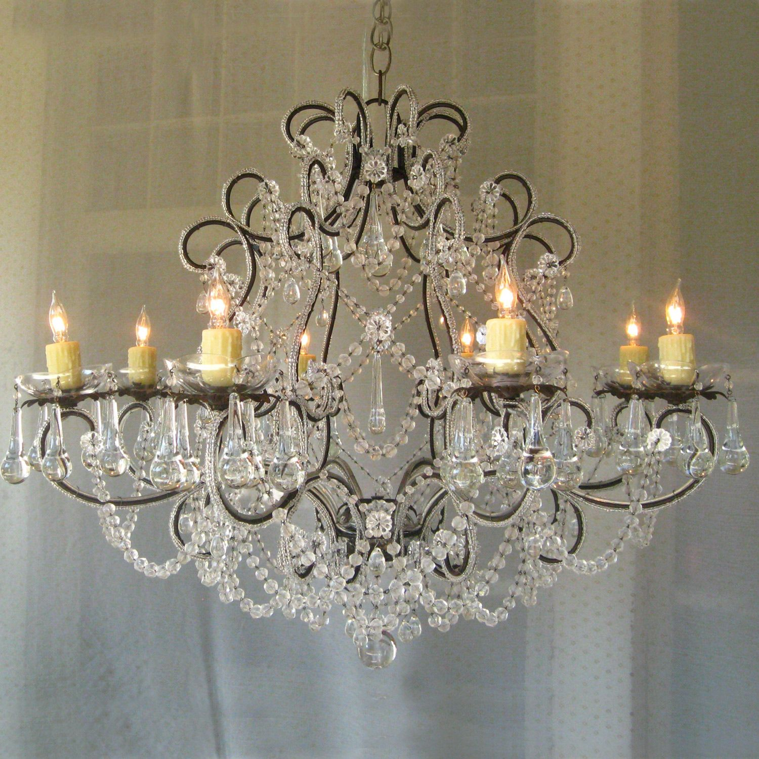 Love this but 6000 if you know of one thats 2000 or less shabby chic chandelier arubaitofo Gallery