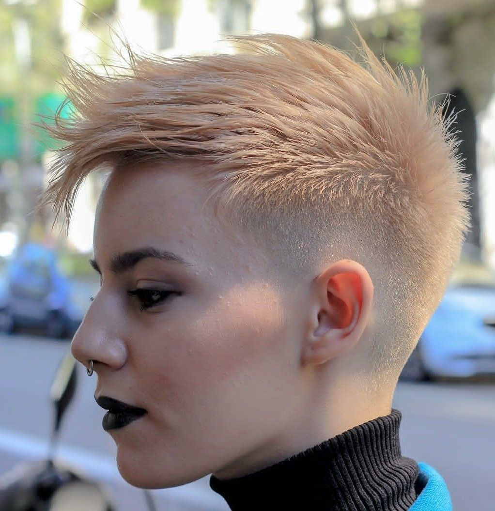 12++ Fade hairstyles for women ideas