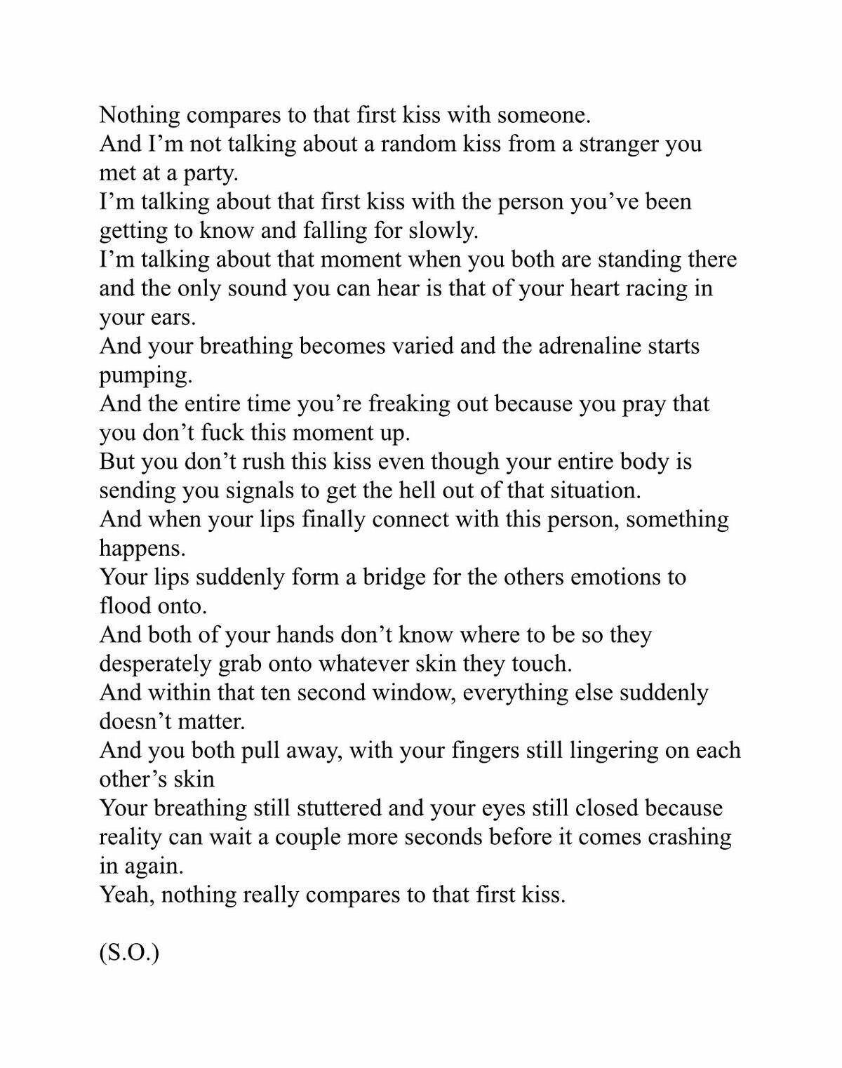 Pin by Samantha Bates on Ok. I'm crying. Kissing quotes