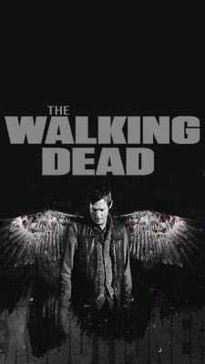 The Walking Dead Iphone Wallpaper Walking Dead Wallpaper Walking Dead Daryl The Walking Dead