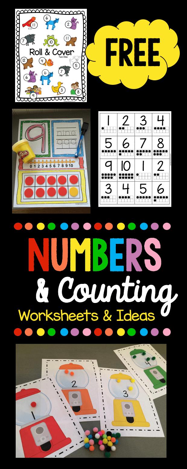Numbers Counting Kindergarten Math Units Math For Kids Kindergarten Math [ 1548 x 620 Pixel ]