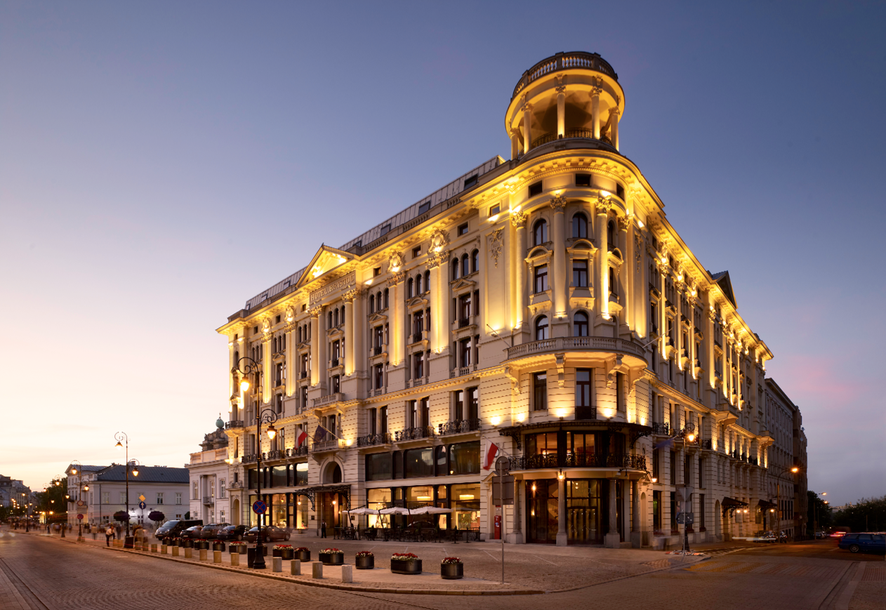 a grand refurbishment has turned #warsaw's iconic hotel bristol into