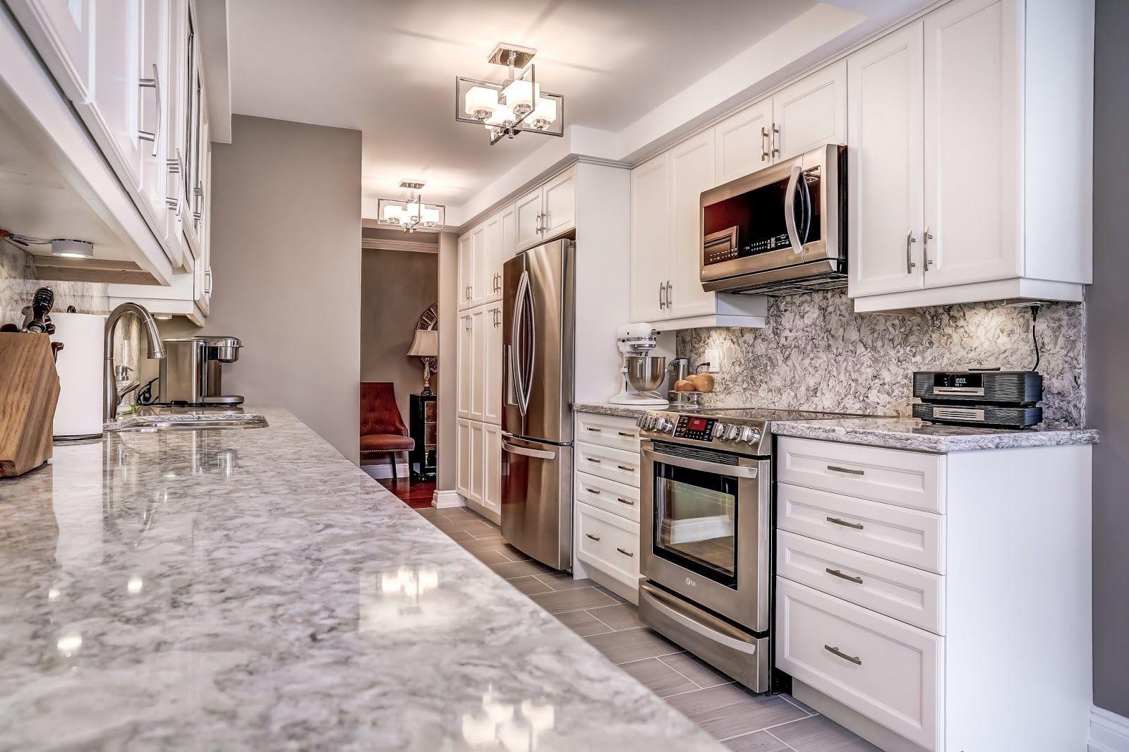 Monarch Kitchen And Bath Centre   Condo Kitchen, White Kitchen, Cambria,  Tile, Renovation | Condo Ideas :] | Pinterest | Condo Kitchen, Kitchen  White And ...