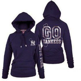big sale 6ce73 10c40 Victoria's Secret Pink Bling Yankees Hoodie Jacket New York ...