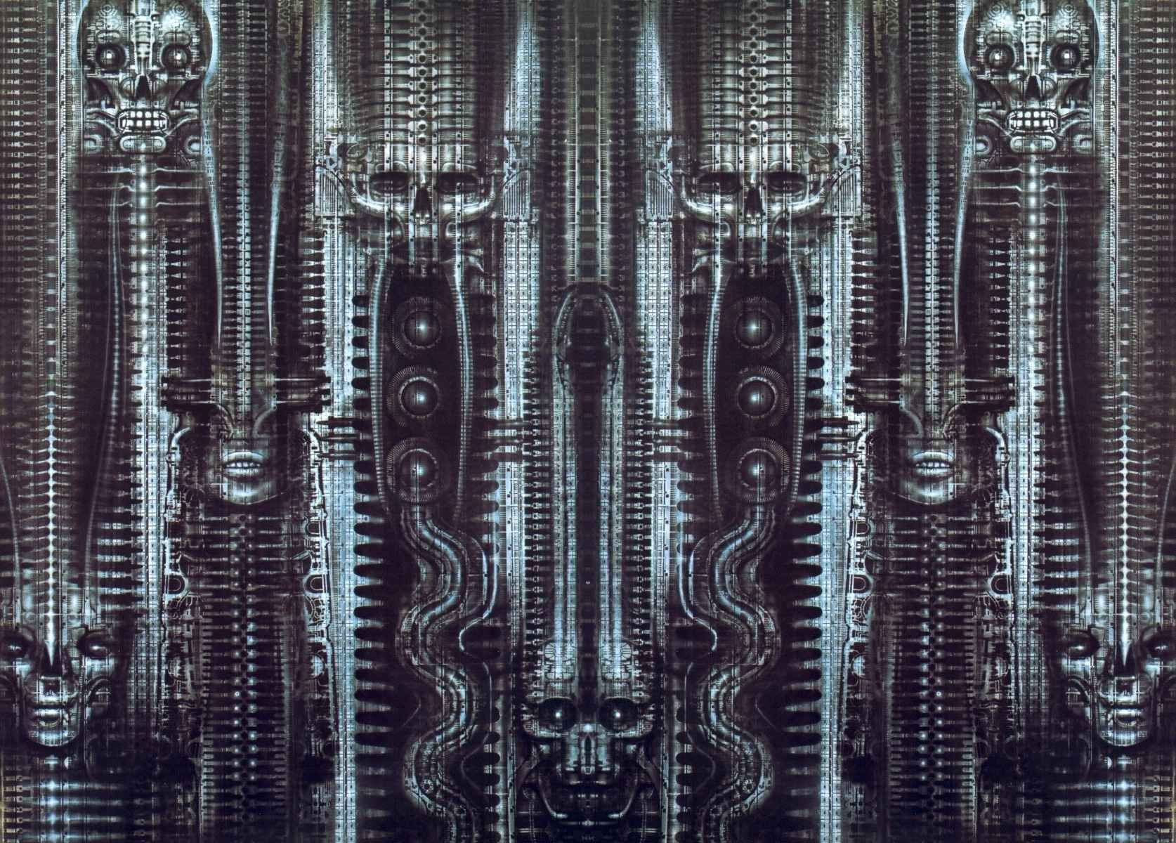 Hr giger tattoo designs - Find This Pin And More On Hr Giger