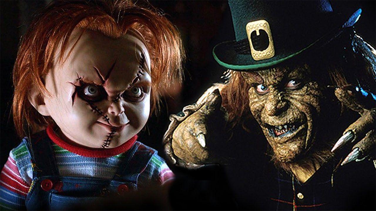 Resultado De Imagen Para Duendes Malos Animados Leprechaun Movie Horror Movie Art Horror Monsters
