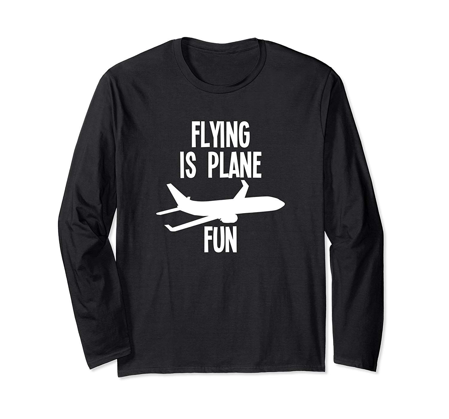 Funny Commercial Pilot Aviation Gift Shirt Long Sleeve T-Shirt