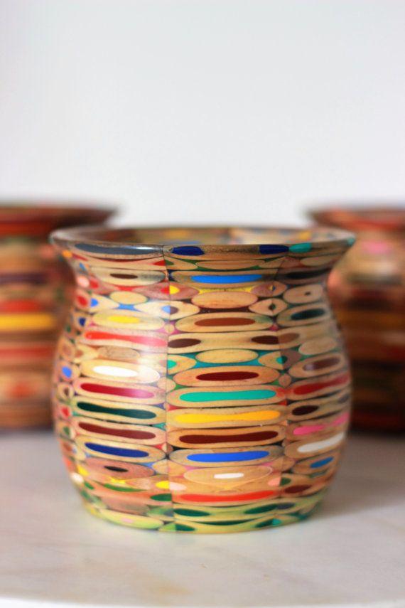 Colored Pencil Vase Pinterest Pencil Vase Colored Pencils And