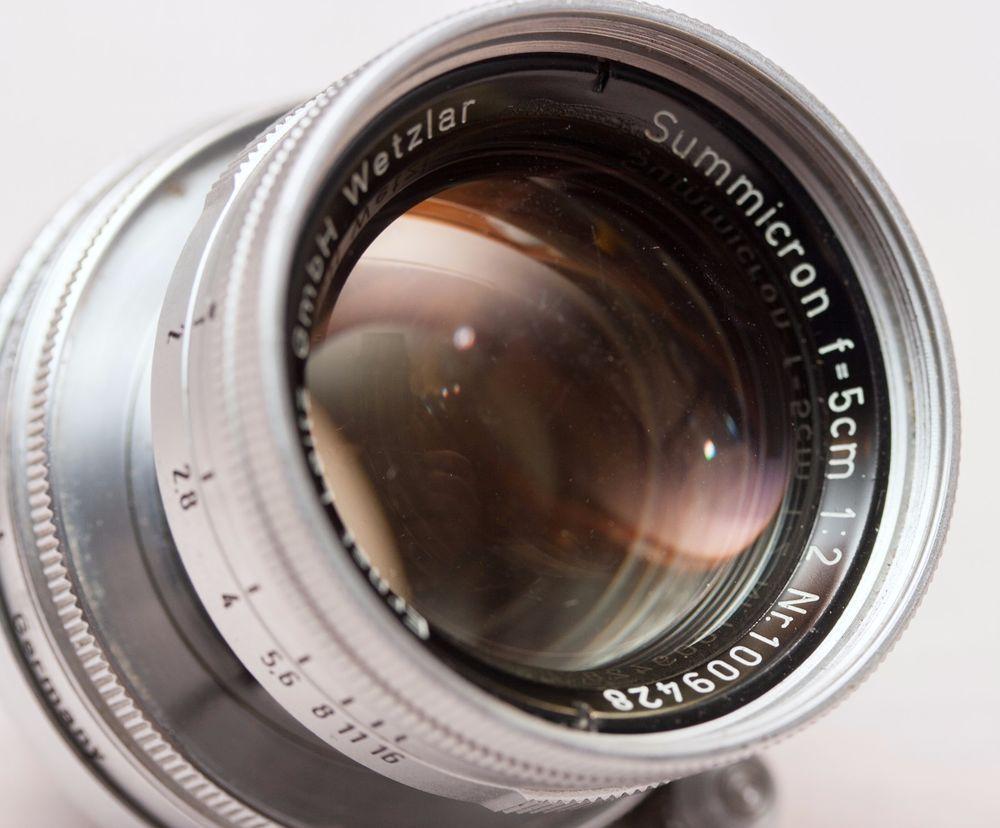 Leica Screw - Collapsible Summicron 50/2 RADIOACTIVE Lens
