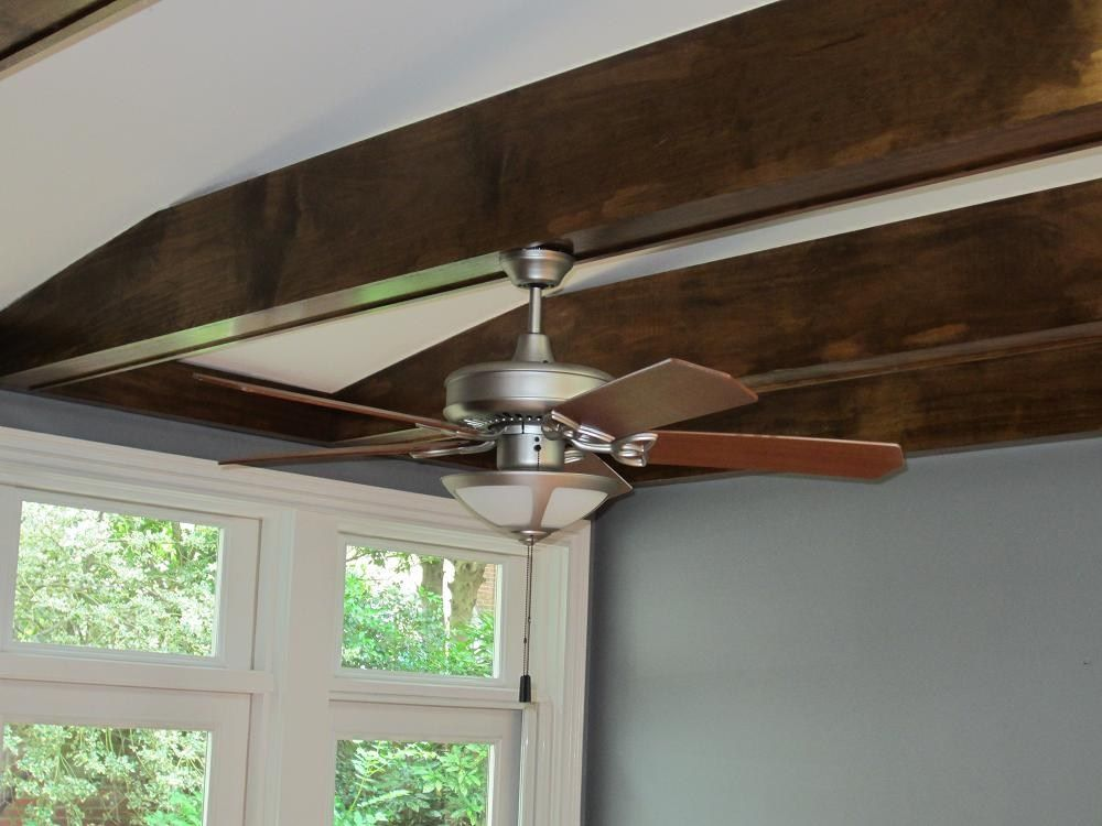 How To Mount A Ceiling Fan To A Beam Google Search Ceiling Fan Ceiling Beams