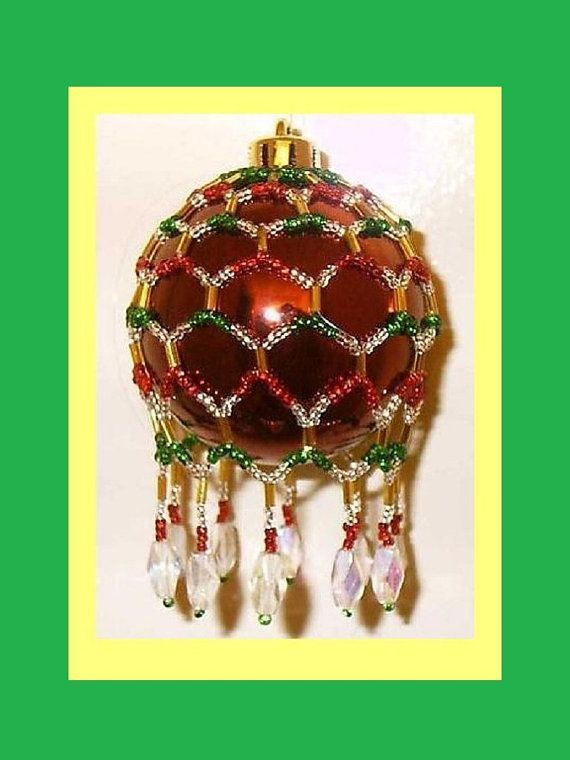 Free Beaded Victorian Ornaments Patterns  Free Seed Bead Ornament