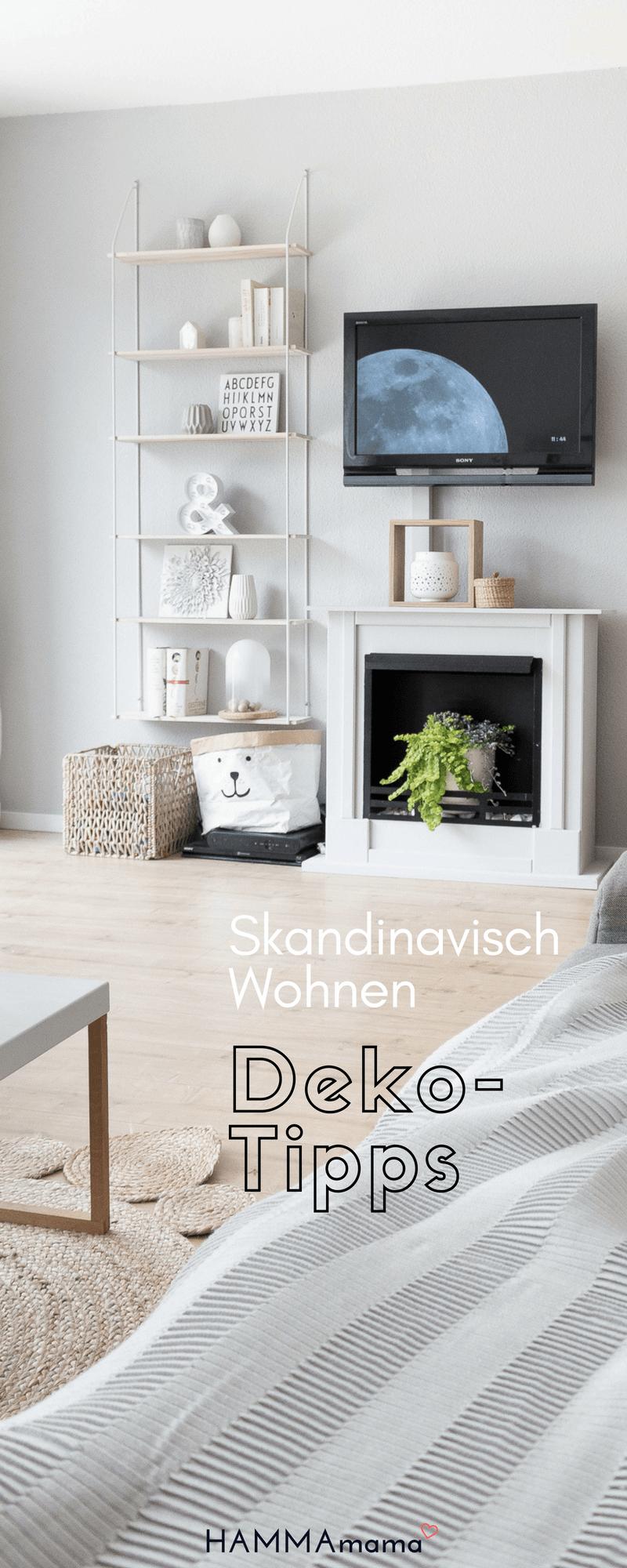 Skandinavisch Wohnen: Einrichten im Wohnzimmer mit Deko-Ideen für den Sommer #skandinavisch #wohnen #deko #stueinspirasjon