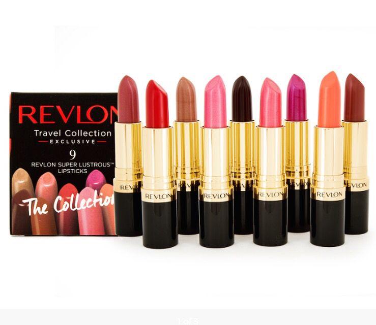 Revlon 9-Piece Super Lustrous Lipstick Set - Nude