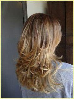 Mittellange Haare Stufig Schneiden Long Hair Styles Nose Hair Removal Hair
