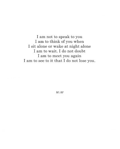 To A Stranger By Walt Whitman Poetry Pinterest Poesia Frases