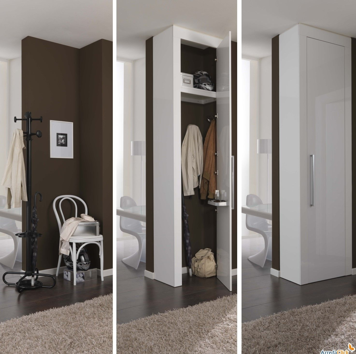 Risultati immagini per armadio nicchia ingresso | Furniture ...