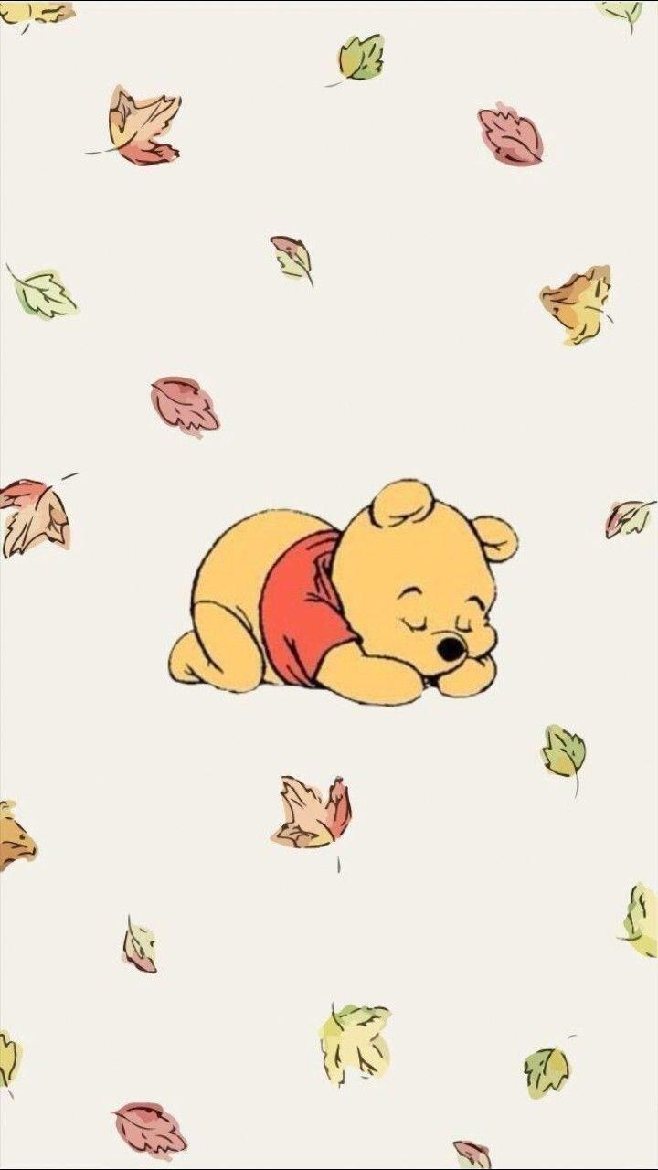 Pooh Bear Iphone8 Disney Phone Wallpaper Cute Disney Wallpaper Wallpaper Iphone Disney