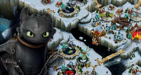 Download Game Simulator Terbaik Dragons Rise of Berk Mod
