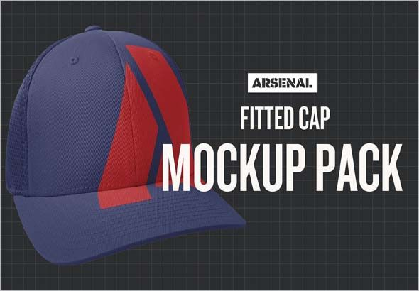 Ed Cap Mockup Template Pack Consists Of Two Por Models To Serve You In Showing Designs These Photo Psd Design