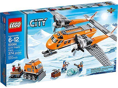 Lego City Arctic Supply Plane - 60064: Amazon.co.uk: Toys & Games ...