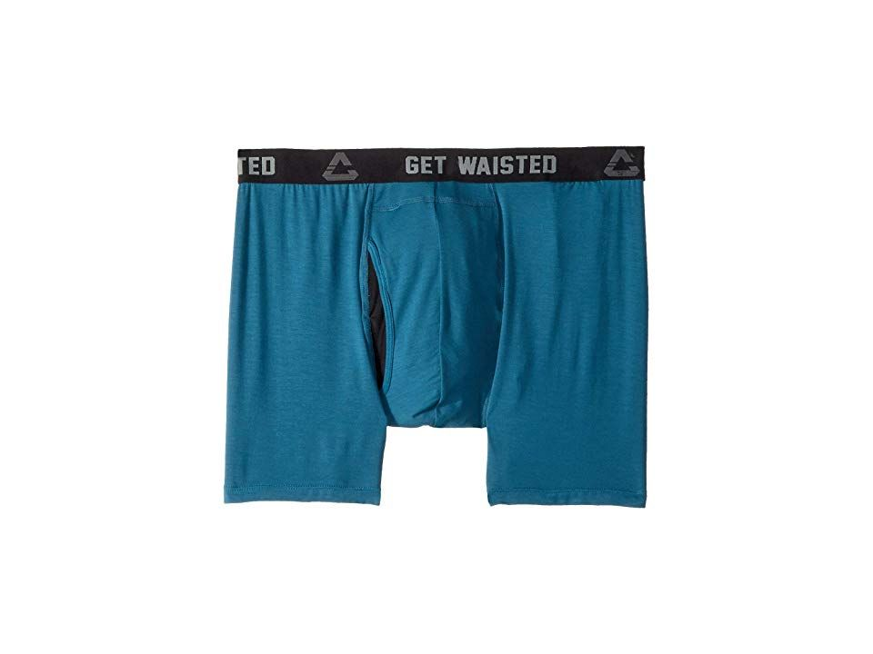 af1c6e075a TravisMathew Shwaisted Boxer (Bluestone) Men's Underwear. Keep every part  of your outfit sleek