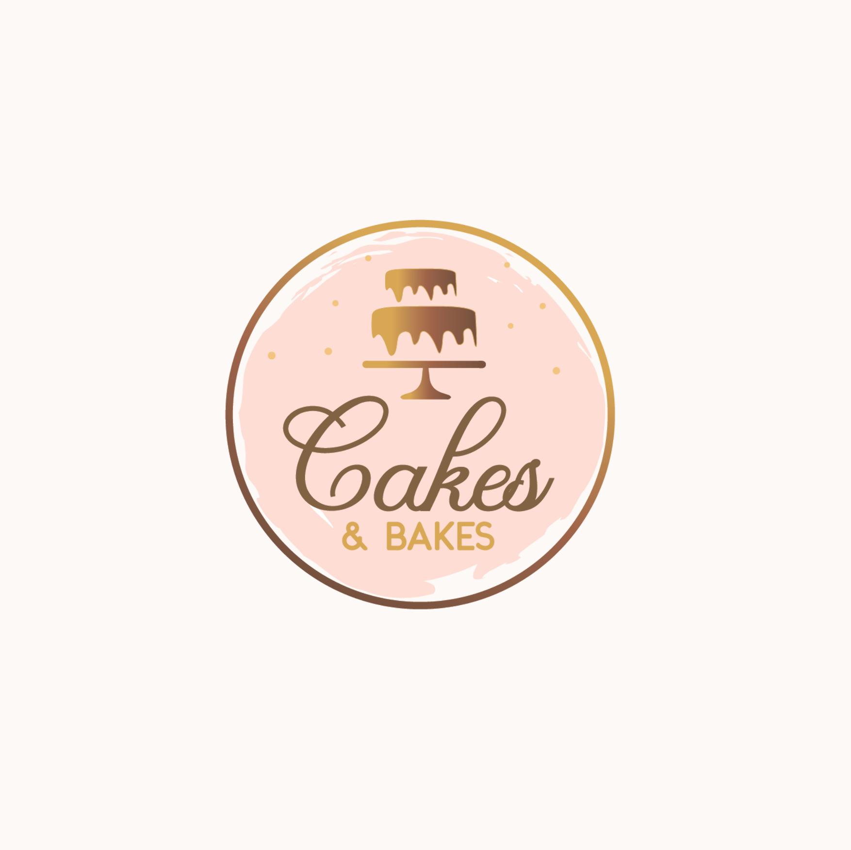 Cakes & Bakes Logo Design for sale. visit Baking blog