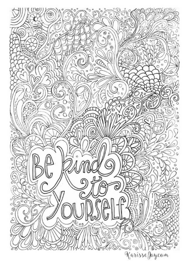 Free Printable Coloring Pages For Adults Quote Coloring Pages Family Coloring Pages Coloring Pages Inspirational