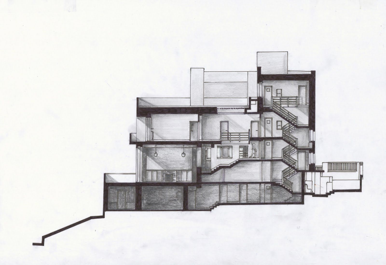 Adolf loos muller house google search architecture for Raumplaner grundriss