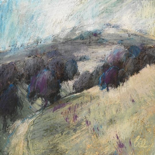 Sarah Bee With Images Landscape Art Pastel Art Abstract Landscape Painting