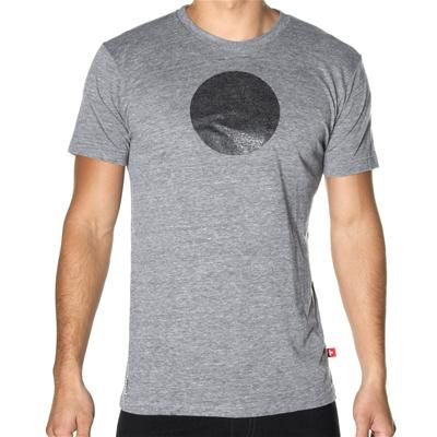 LeanSculpt V-Shaper Sphere T-Shirt by Andrew Christian in Vintage Heather