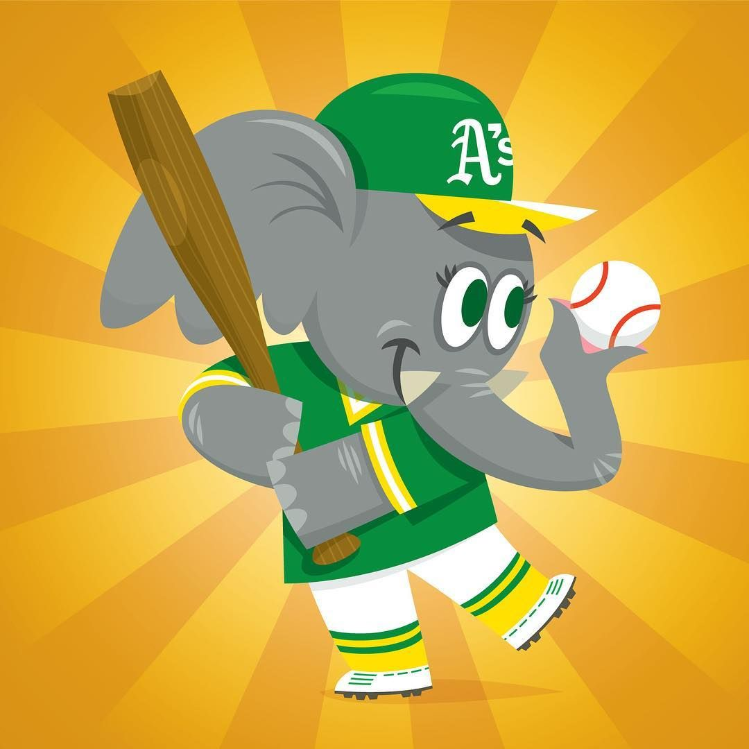 Image result for oakland a's cartoon